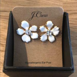 J. Crew Jewelry - J Crew Flower Earrings NWT